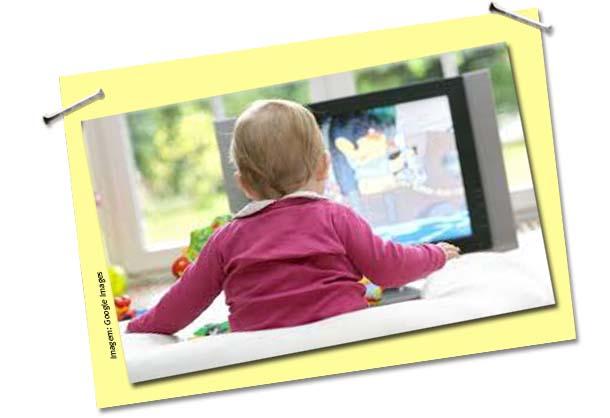TV não estimula o desenvolvimento infantil