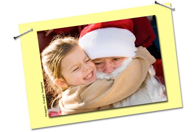 Papai Noel existe: não é mentira de mãe!