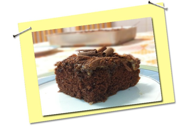 O melhor bolo de chocolate da infância
