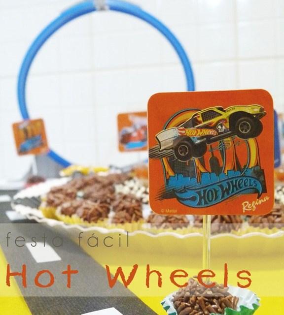 Festa Hot Wheels: Faça você mesmo