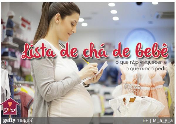 Lista de chá de bebê: do que você realmente precisa