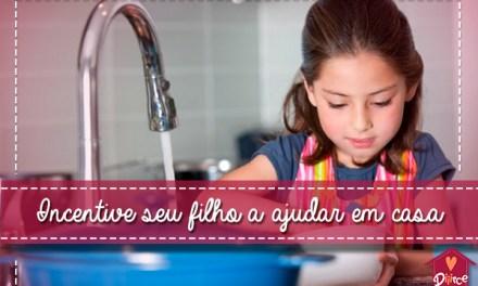 Quadro de incentivo para seu filho ajudar em casa
