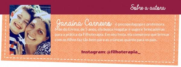 Filhoterapia por Jana Carneiro