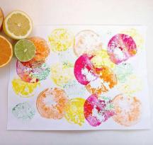 pintando com texturas