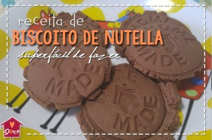biscoito de nutella