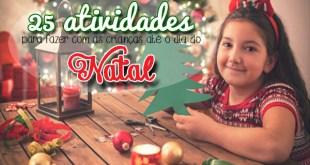 atividades de natal para fazer com as crianças