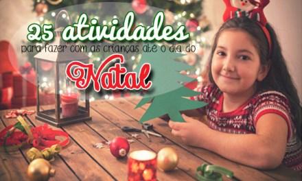 25 atividades de Natal para fazer com as crianças