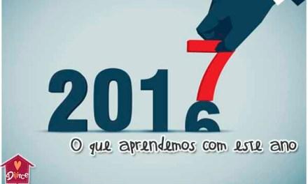O que aprendemos em 2016: Eita ano tenso!