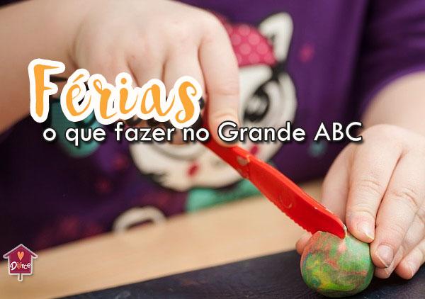 O que fazer no grande ABC com crianças