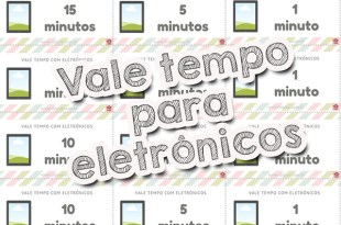 Vale tempo para eletrônicos: controlar a tecnologia na infância