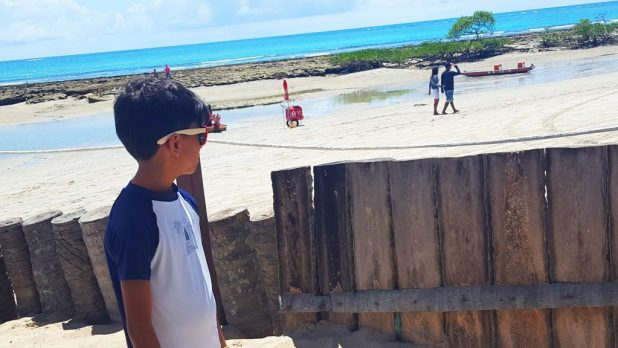 Porto de Galinhas com crianças