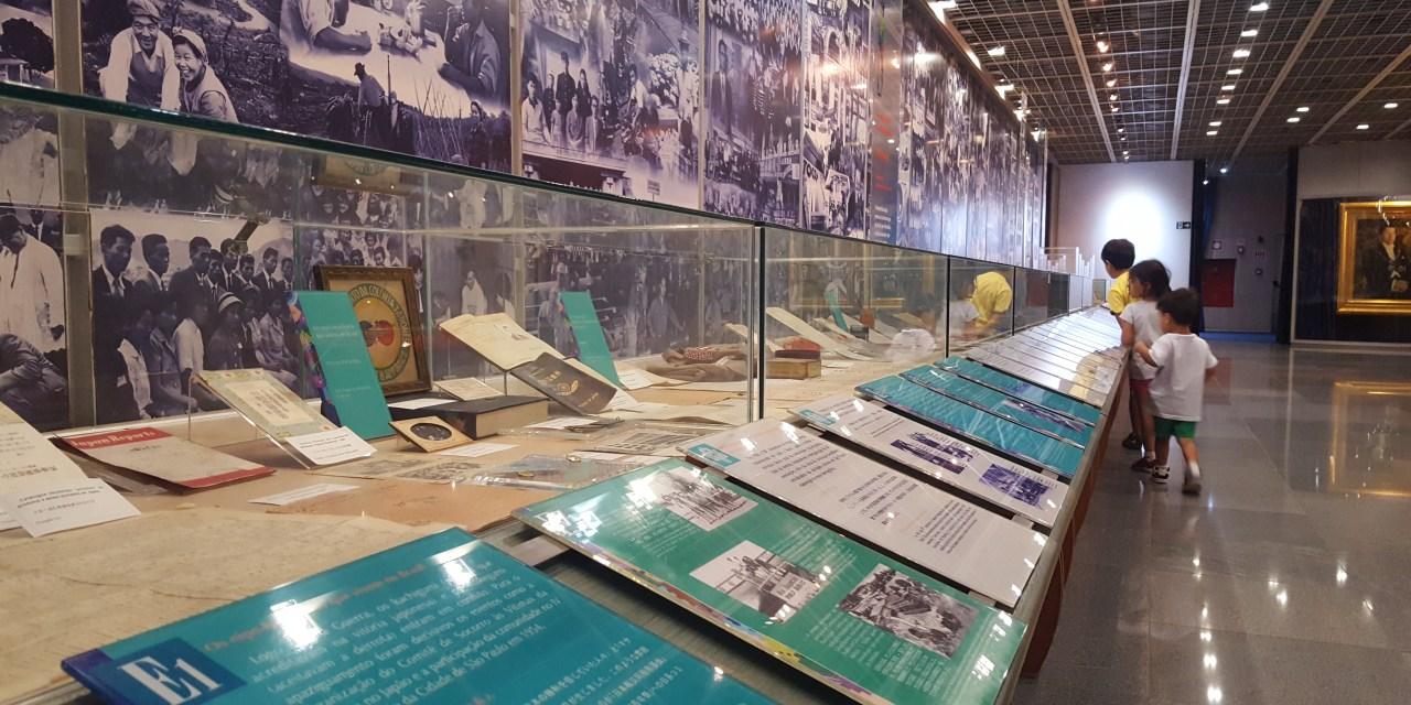 Museu Bunkyo e Bairro da Liberdade com crianças