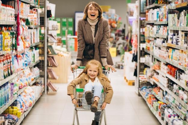 Como fazer mercado com filhos sem estresse