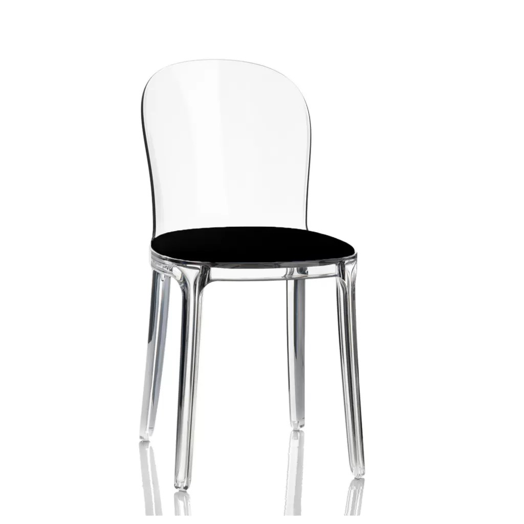 Clear Vanity Chair Transparent Vanity Chair Stefano Giovannoni Replica Diiiz