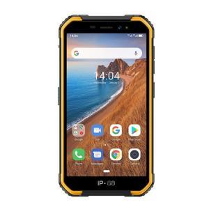 Ulefone Armor X6 16GB/2GB Iskunkestävä älypuhelin, musta oranssi