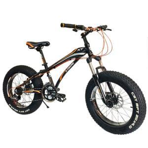 """X-TREME Fatbike mini 20 x 4"""" musta, oranssi"""