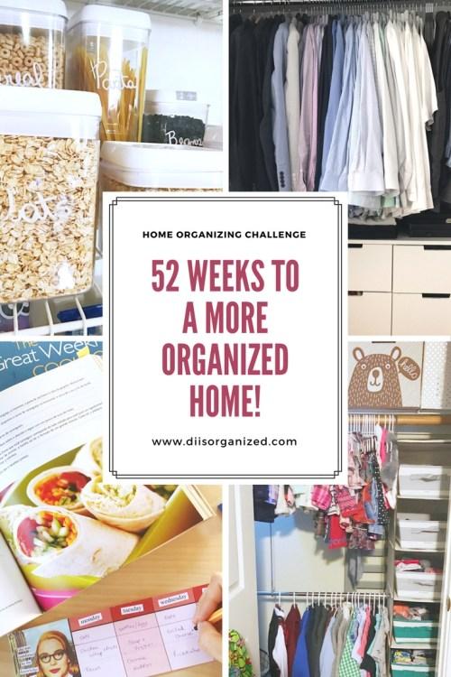 Home organizing challenge