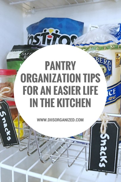 PANTRY ORGANIZATION TIPS FOR AN EASIER LIFE IN THE KITCHEN (1)