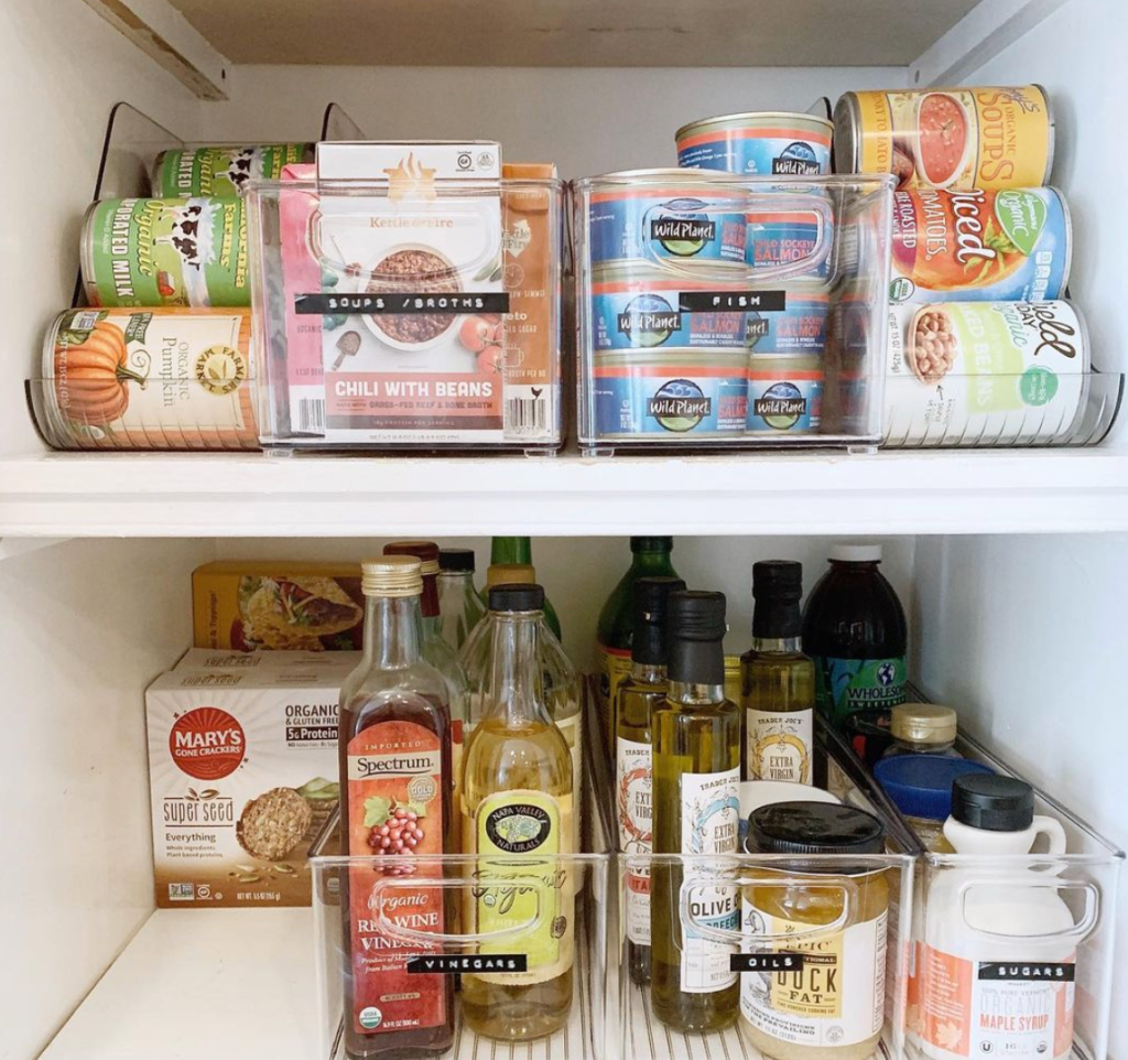 Pantry - Hands-on Organizing services - Home Professional Organizer - Baltimore, MD