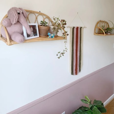 STYLED AND ORGANIZED LITTLE GIRL'S BEDROOM