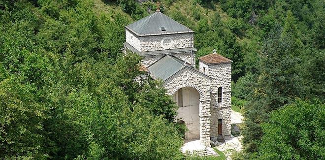Crkva Gospe samuje u Olovu