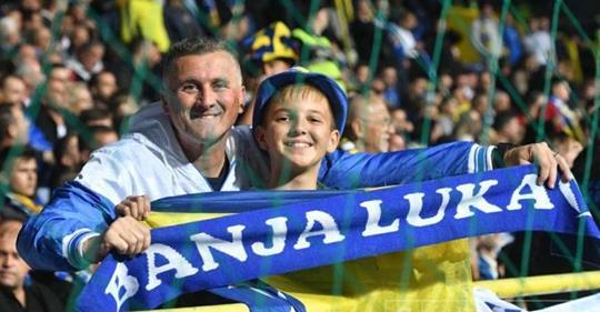 Liga nacija/ Prizor za pamćenje: Ovakve navijače BiH još nije imala, Grbavica blista