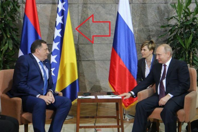 """Korkije ga """"safatale"""": Pogledajte kako je Dodika oblio hladan znoj pred Putinom"""