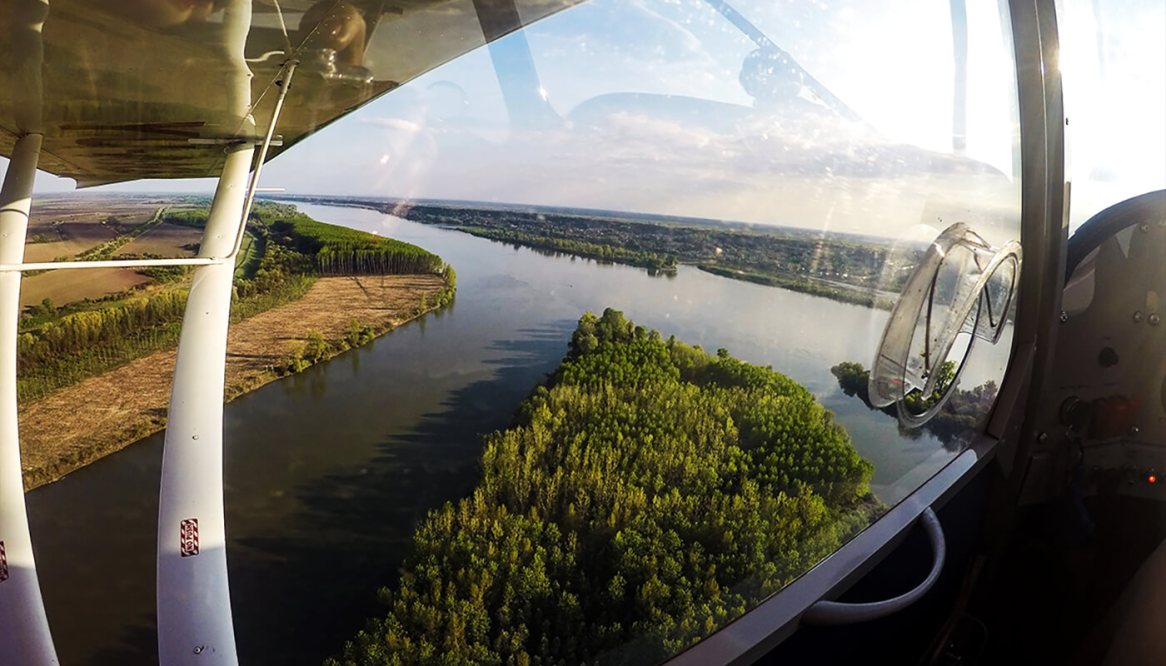 Iznad korita Dunava