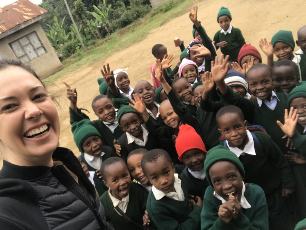 Children in Arusha school