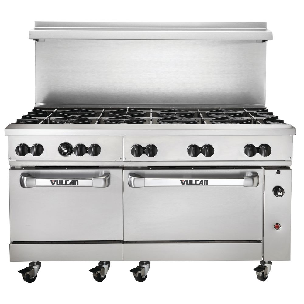 vulcan kitchen shelves endurance natural gas restaurant range 10 open burners 2
