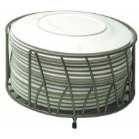 Metal Plate Holders & Antiqued Metal Plate Rack