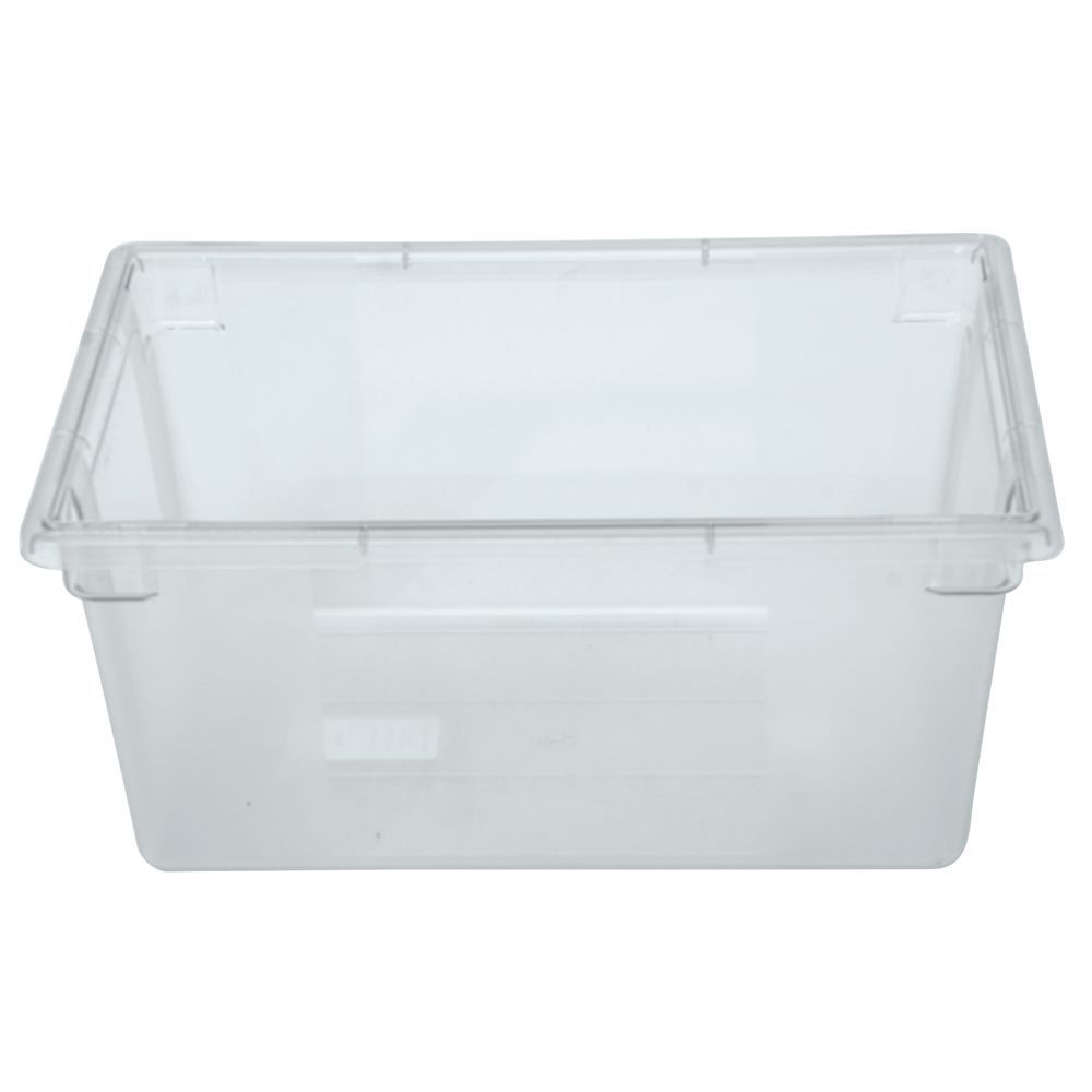 Best Kitchen Gallery: Hubert 16 5 8 Gal Clear Plastic Full Size Food Storage Box 26l X of Plastic Storage Containers By Size on rachelxblog.com