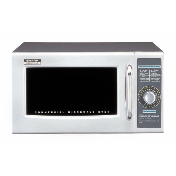 Sharp Commercial Microwave Oven With Dial Control