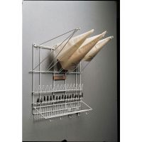 Thermohauser White Wire Pastry Bag Holder and Pastry Tip ...