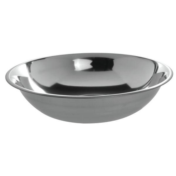 Hubert 10 Qt 24 Gauge Stainless Steel Mixing Bowl - 15 1