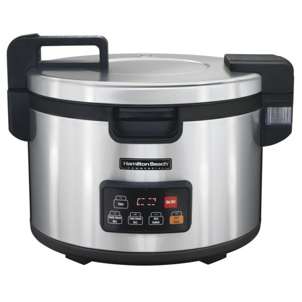 Proctor Silex 90 Cup Stainless Steel Rice Cooker Warmer