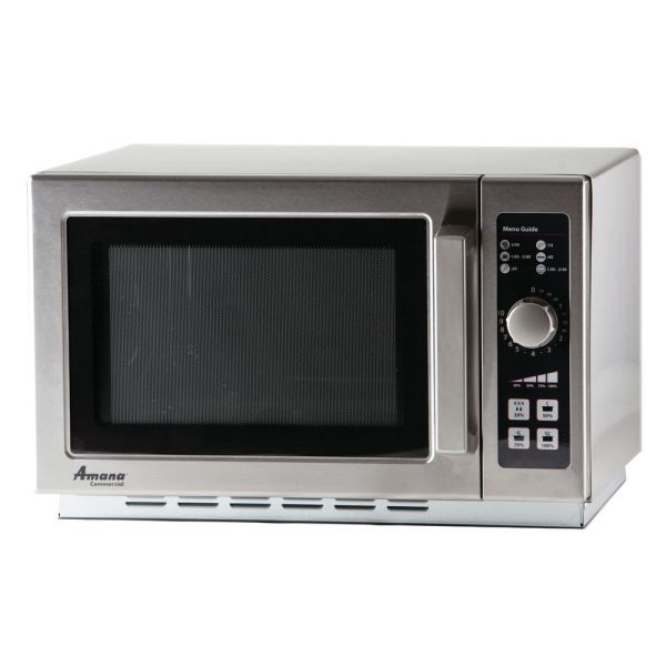 """Amana Commercial Microwave With Dial Controls - 22""""l X 19"""