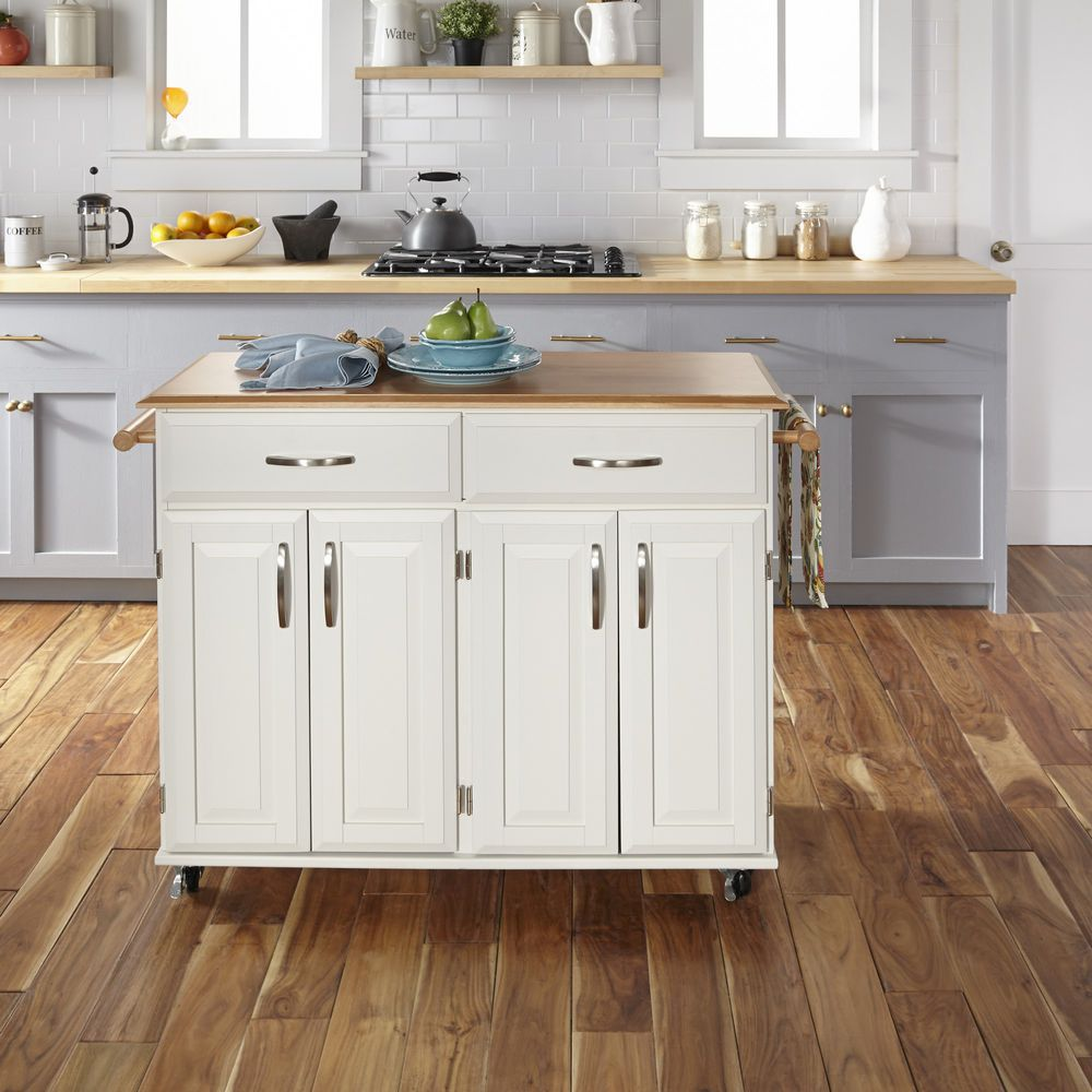 home styles kitchen cart wall cabinet sizes for cabinets homestyles dolly madison white