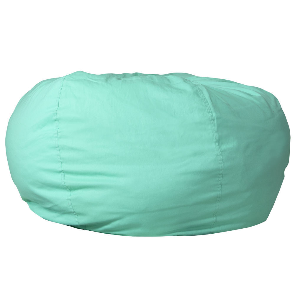 Where Can I Buy A Bean Bag Chair Flash Furniture Oversized Solid Mint Green Bean Bag Chair