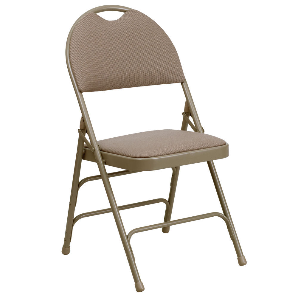 folding chair fabric office upholstery repair flash furniture beige savings available