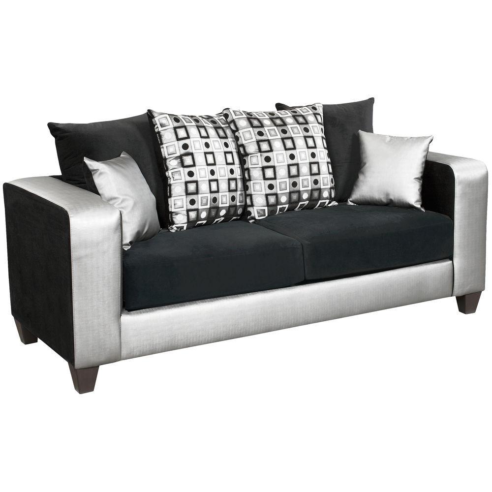 steel frame sofa coolest sofas flash furniture riverstone implosion black velvet with 1