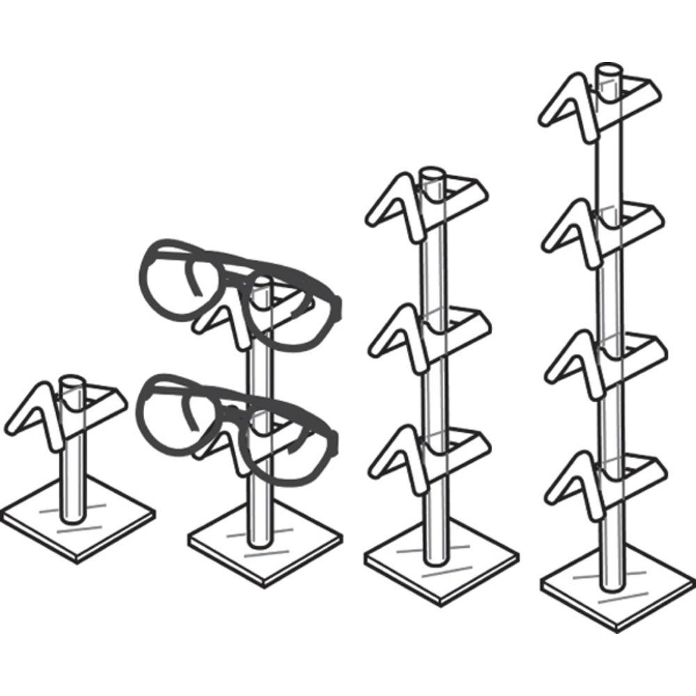 Single Clear Eyewear Display