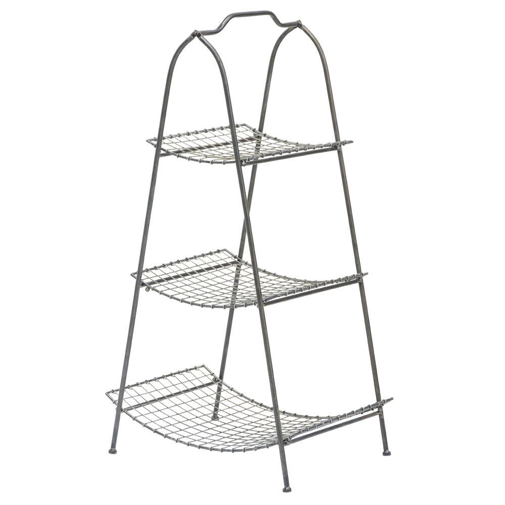 3 Tier Wire Mesh Folding Rack