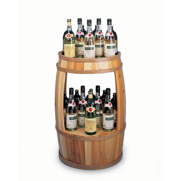 Wine Barrel Display