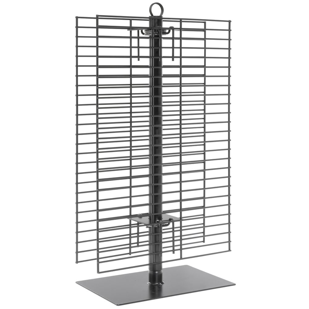 spinning wire display rack