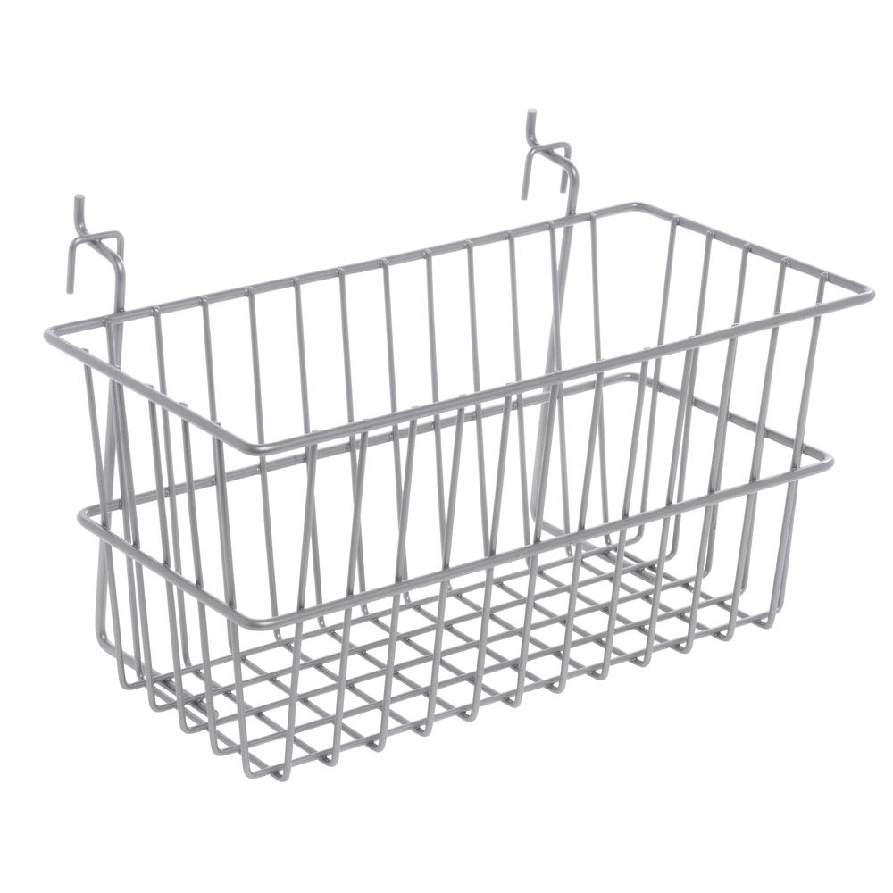 Small Wire Basket For Queuing Wall System