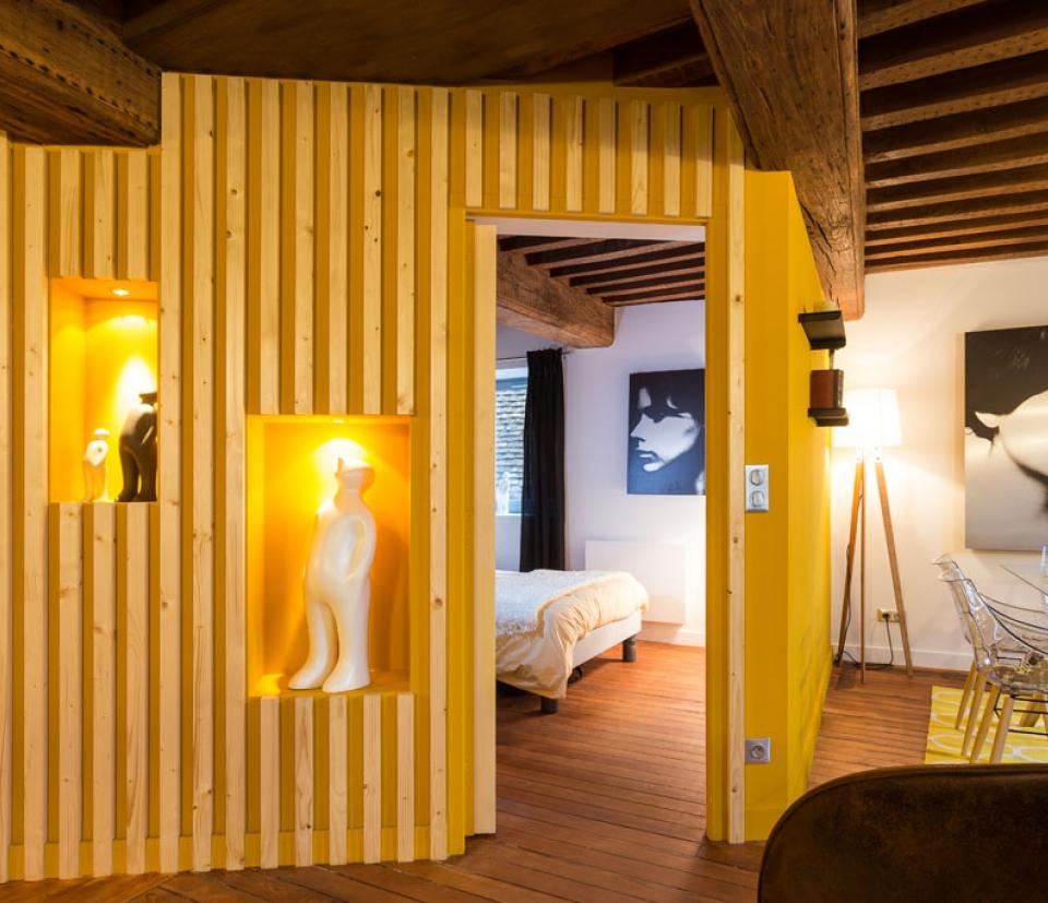 Moutarde appartement  louer  Dijon pour les vacances  Dijon la Belle Adresse