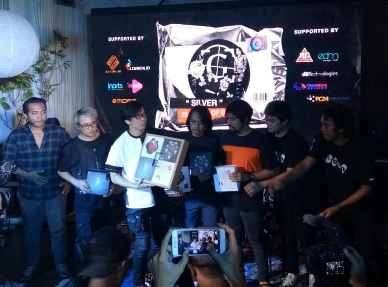 Merayakan HUT Ke-25, Grup Musik GIGI Hadirkan Exclusive Box Set