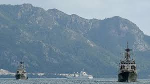 Tiga KRI Kembali Menghalau Konvoi Kapal Nelayan China