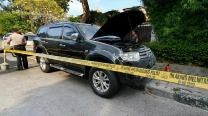 Ledakan Menyerupai Petasan di Rumah Jalan Yusuf Adiwinata Menteng
